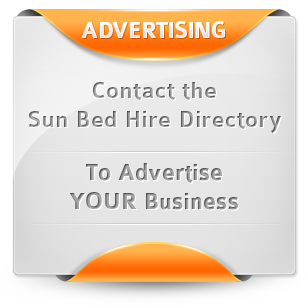 Advertise on the Sun Bed Hire Directory